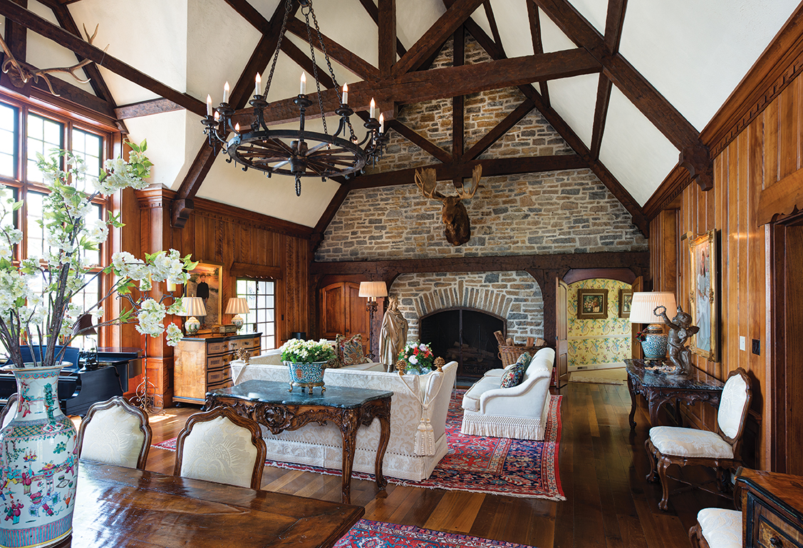 Perfect YEAR BUILT: 1937 ARCHITECTURAL STYLE: English Tudor ARCHITECTS: John Henry  Deekin (1937